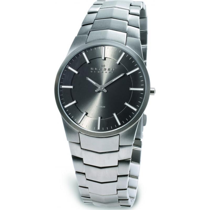 Skagen Watches 694XLTXM Mens Light Weight Titanium Bracelet Watch