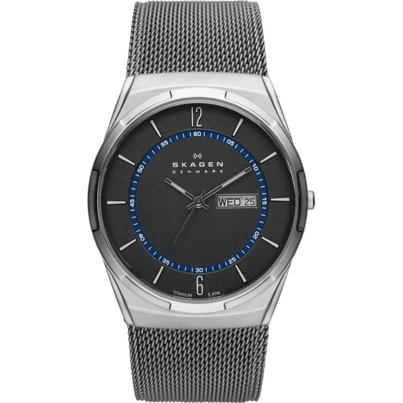 skw6078 aktiv skagen men s watch watches2u skagen skw6078 mens aktiv grey mesh titanium watch