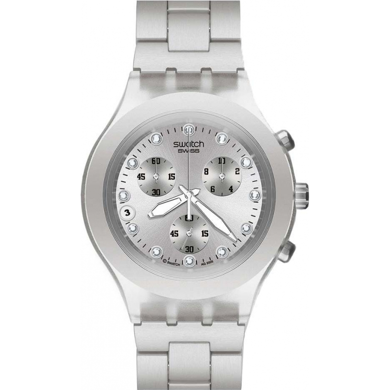 swatch full blooded  silver