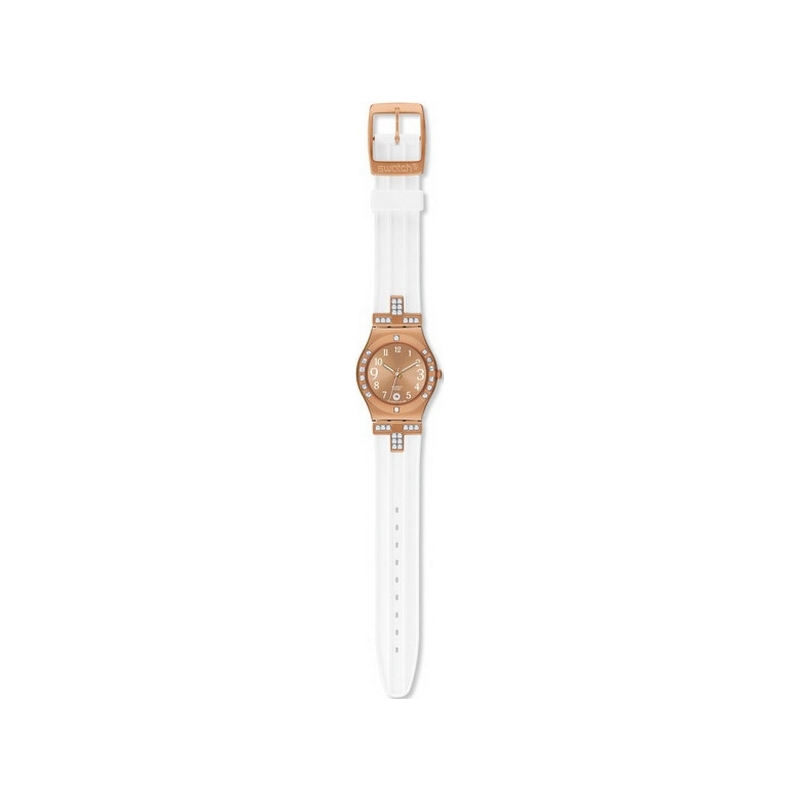 Swatch Watches YLG403 Fancy Me Pink Gold Ladies Watch