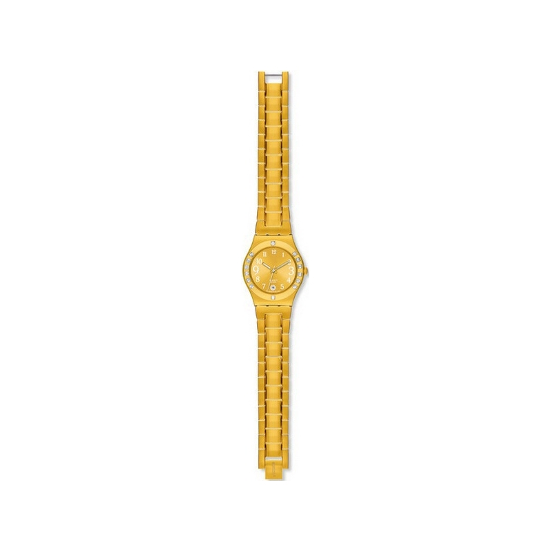Swatch Watches YLG404G Fancy Me Gold Ladies Watch