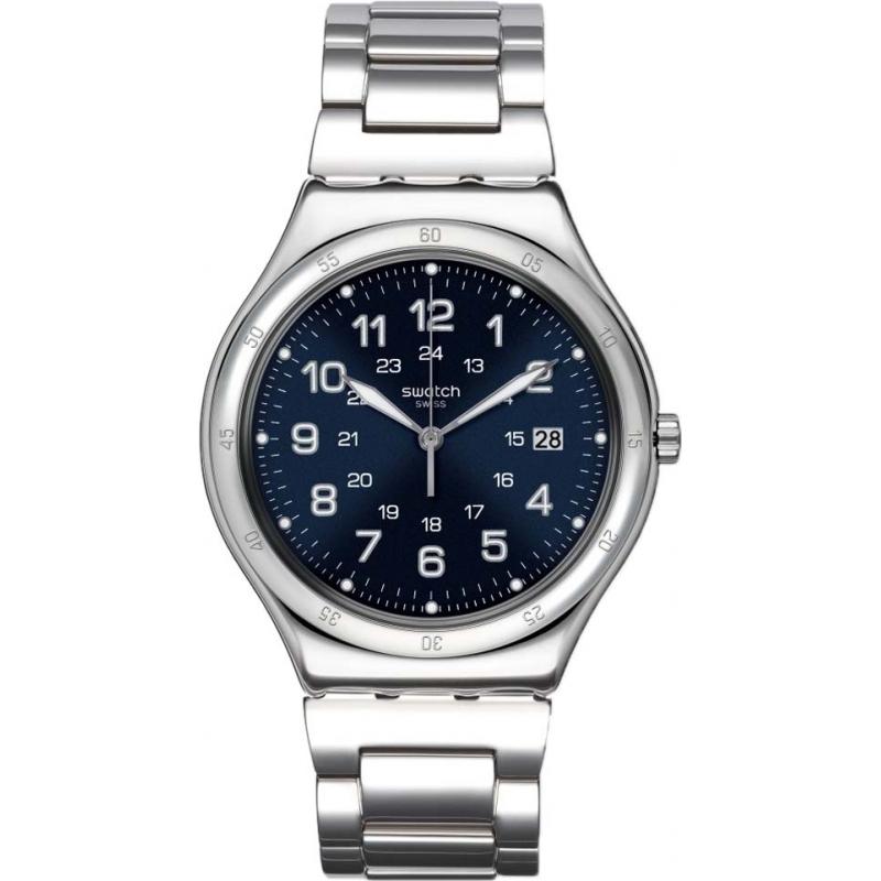 Swatch YWS420G Relógio de barco azul para homem