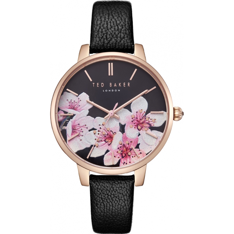 8a58f5d29 Black Leather TE50272003 Ted Baker Watch