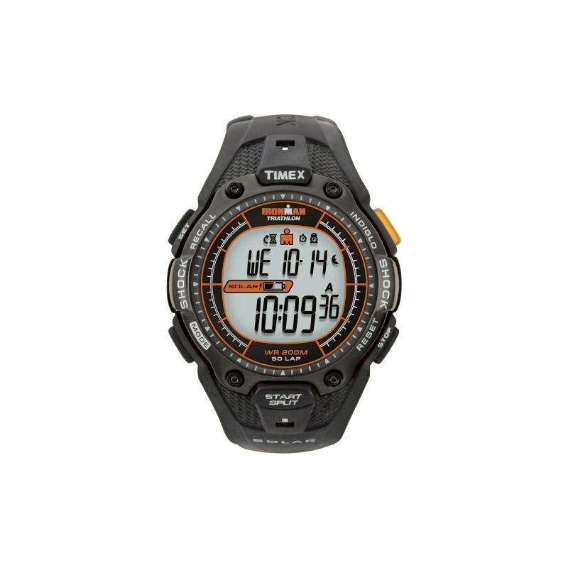 t5j641 mens timex watch watches2u timex t5j641 mens black orange ironman shock solar 50 lap sport watch