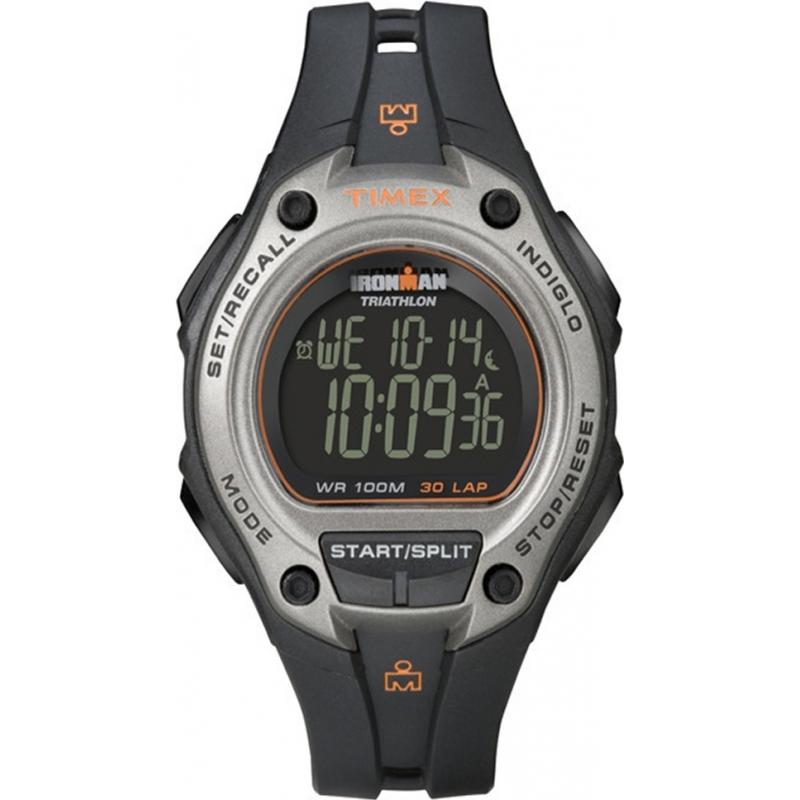 t5k758 timex mens black ironman 30 lap oversize sport watch timex t5k758 mens black ironman 30 lap oversize sport watch