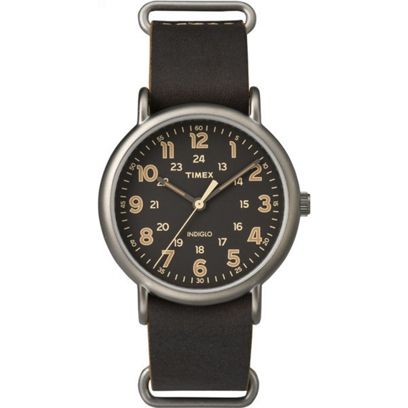 Brown Leather Tw2p85800 Timex Watch Watches2u