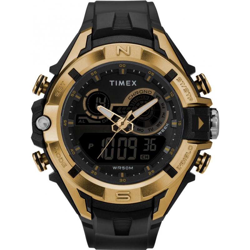f49e6da87cd3 Black TW5M23100 Timex Marathon Watch