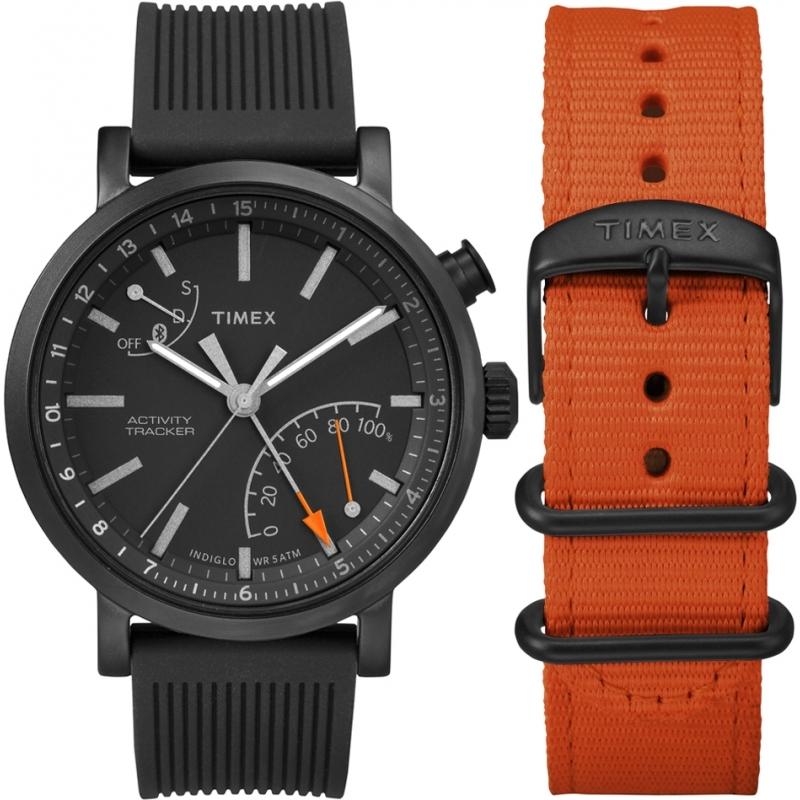 2118681862b8 Timex Mens Metropolitan Plus Smartwatch and Strap Gift Set TWG012600