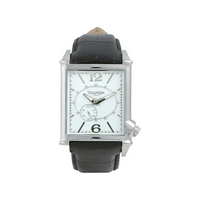 Triumph 3022-02 Mens White Dress Watch