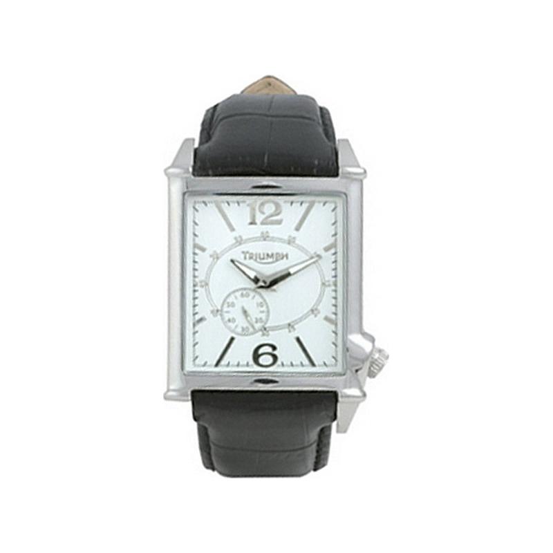 Triumph 3022-02 Mens White Dress Watch