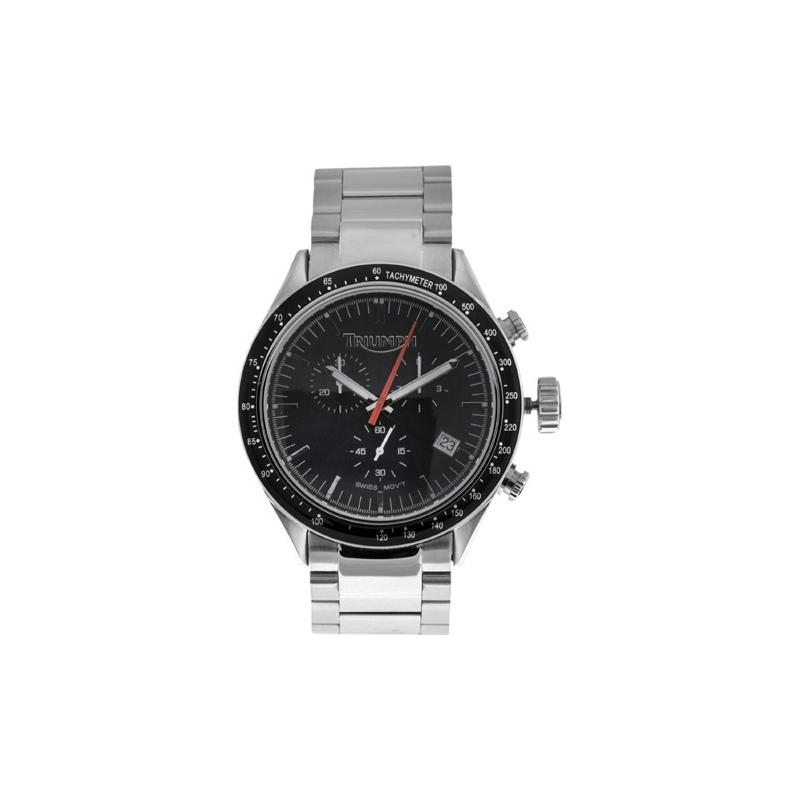 Triumph 3026-11 Mens Oversize Black Chronograph Watch